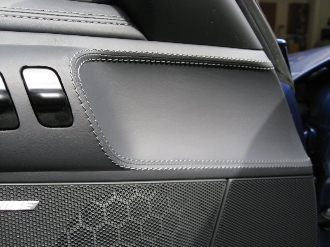 Leather Stitched Interior Door Handle Surrounds for 997/987