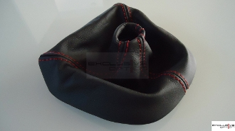 Leather Deviated Stitched Shift Boot for 997/987