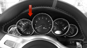 Leather Gauge Cluster Surround (CWV) for 997