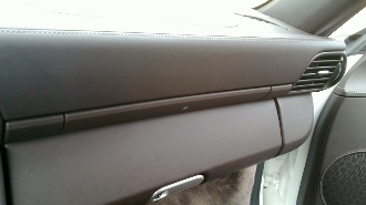 Leather Cup Holder Dash Trim Strip for 997/987