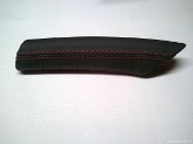 Leather Deviated Stitched E-Brake Handle for 997/987