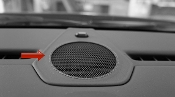 Leather Stitched Center Dash Speaker Grill for 997/987