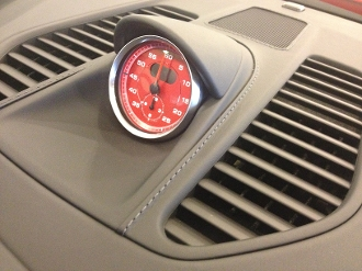 Leather Center Dash Speaker Grill (CVZ) for 991