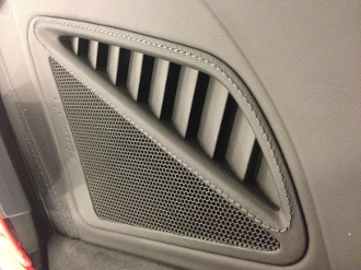 Leather Dash Top Side Grills for 991